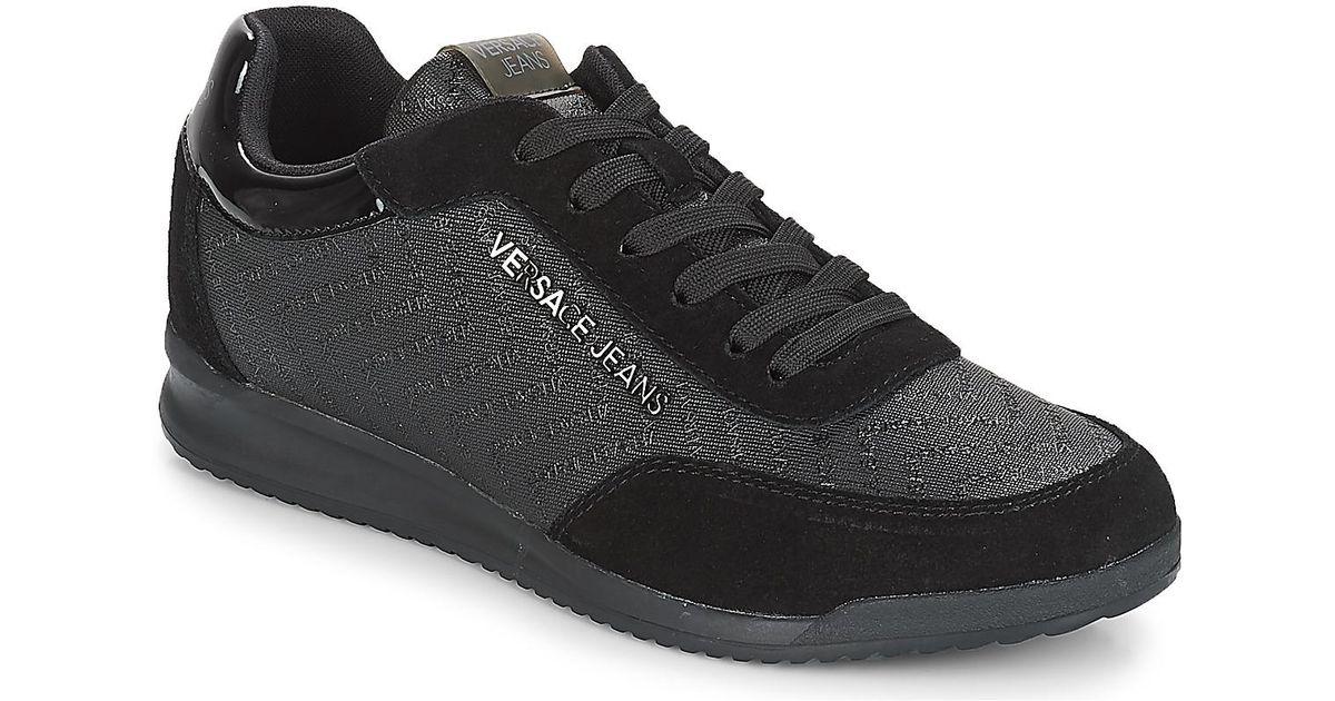 Cacon Noir Hommes Jeans En Black Versace Homme Coloris Chaussures Pour GjLqSzVUMp