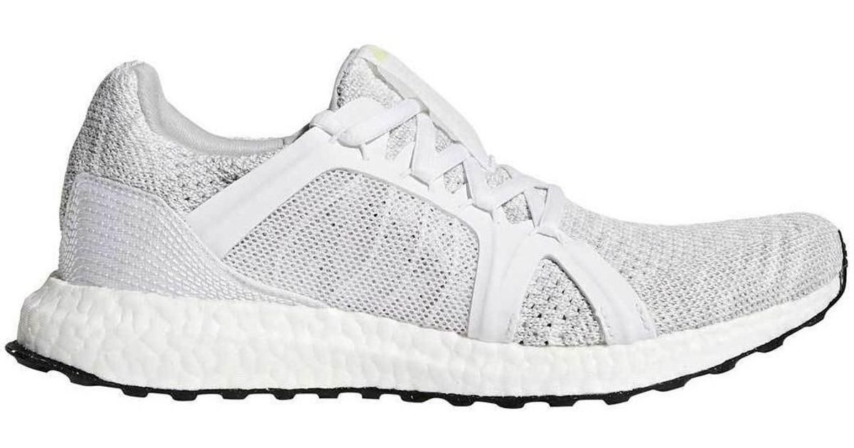 super popular 2c3bd 5a311 Adidas - White Ultra Boost X Parley Shoes - Stone - 4 Multicolour Women's  Running Trainers In Multicolour - Lyst