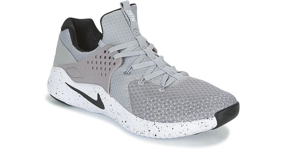 d1320eefbeb0 Nike Free Trainer V8 Men s Trainers In Grey in Gray for Men - Lyst
