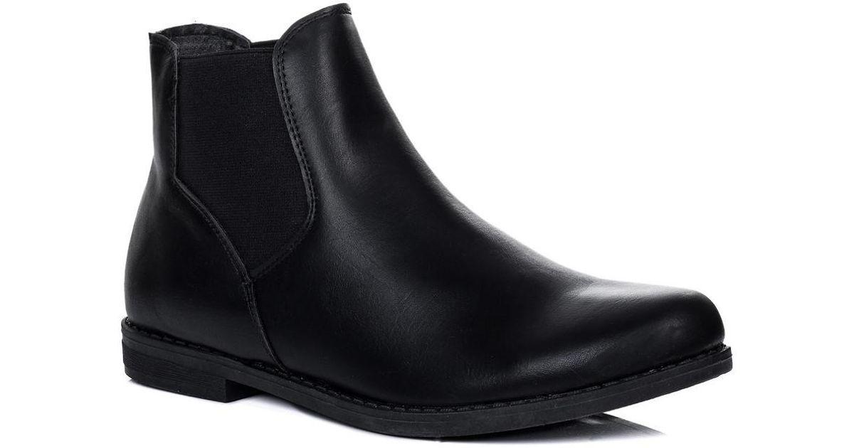 Spylovebuy Women's Maximo Black Lyst In Boots in Ankle Black Low BqBvwUrp