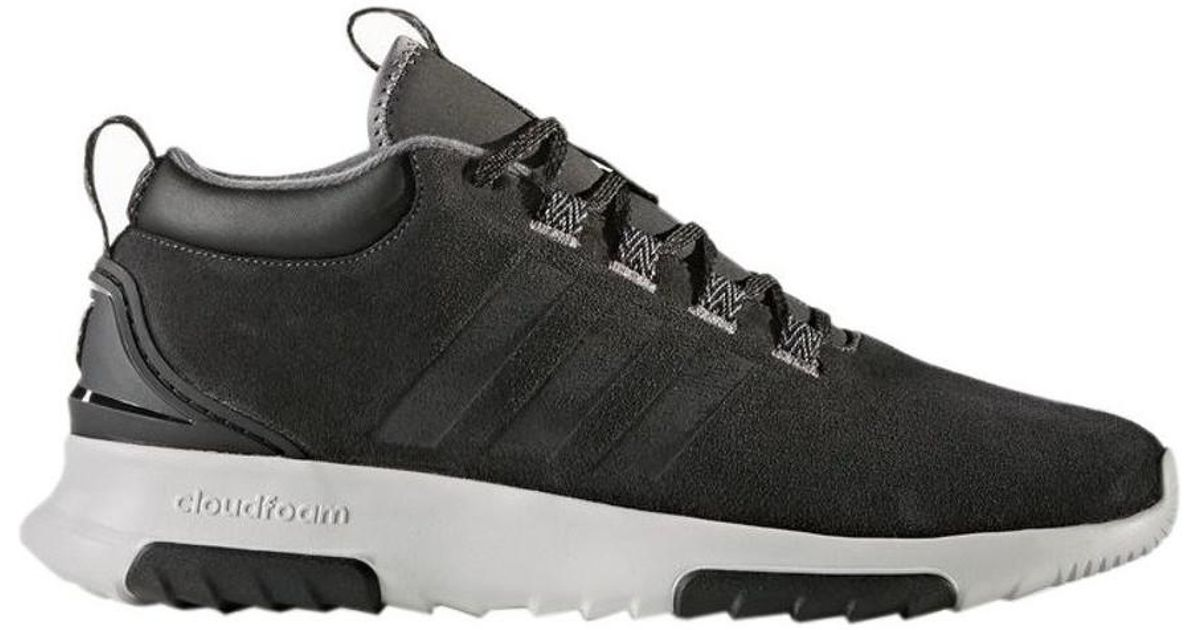 Adidas Cf Racer Mid Wtr Utiblkutiblkcblack Men's Shoes (trainers) In Black  for men