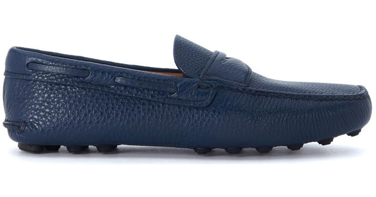 97ffd501ff989 Church's Luigi Blue Leather Loafer Men's Loafers / Casual Shoes In Blue for  men