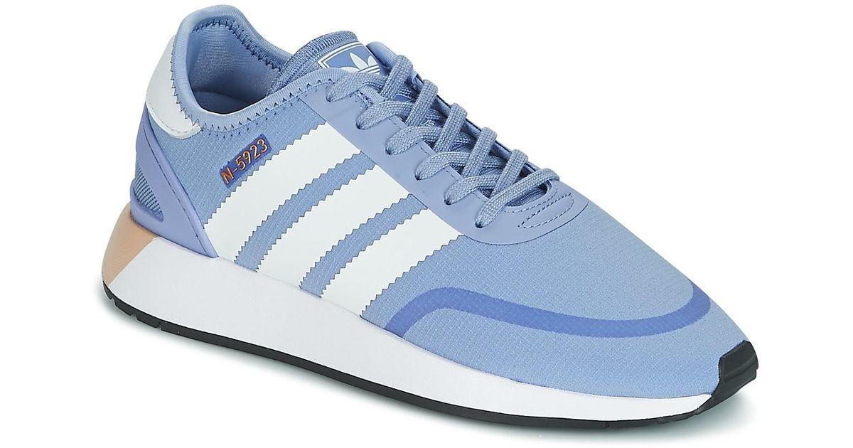 adidas iniki blauw