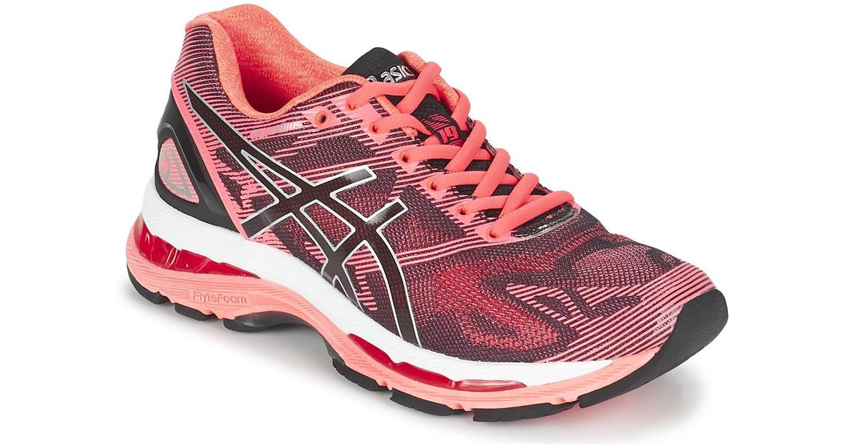 brand new caaa2 d92cd Asics Gel-nimbus 19 W Women's Running Trainers In Pink