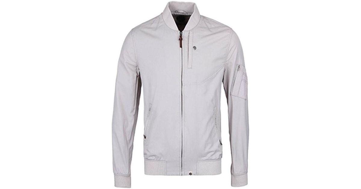 ... f48b8 f61fb Pretty Green Ventura Jacket Womens Jacket In Grey in Gray -  quality ... ce3ef8d931