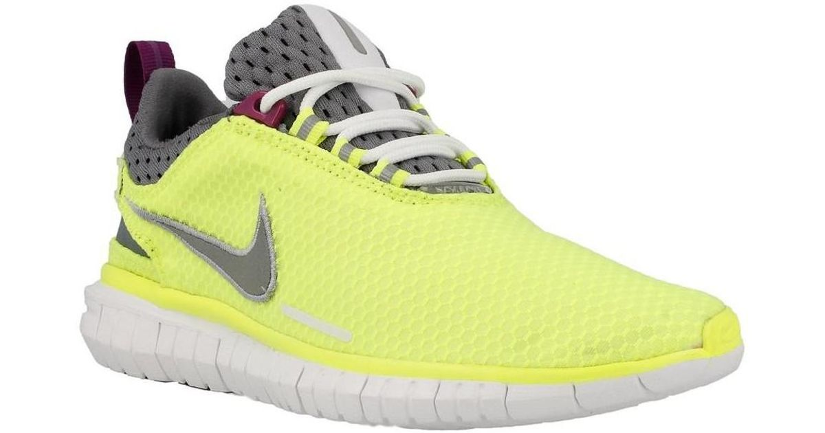 new products a78fa d7901 Nike Free Og 14 Br Women s Running Trainers In Yellow in Yellow - Lyst ...