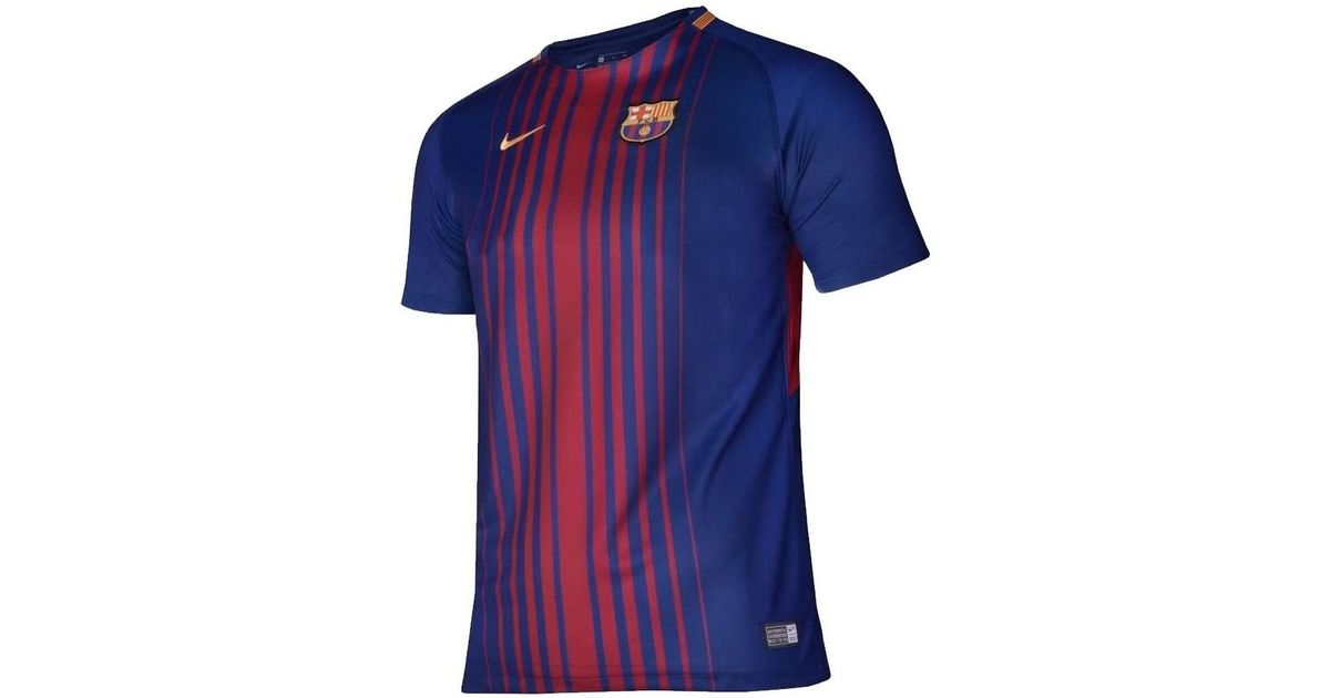 888011c70 Nike 2017-2018 Barcelona Home Shirt (kids) - No Sponsor Men s T Shirt In  Red in Red for Men - Lyst