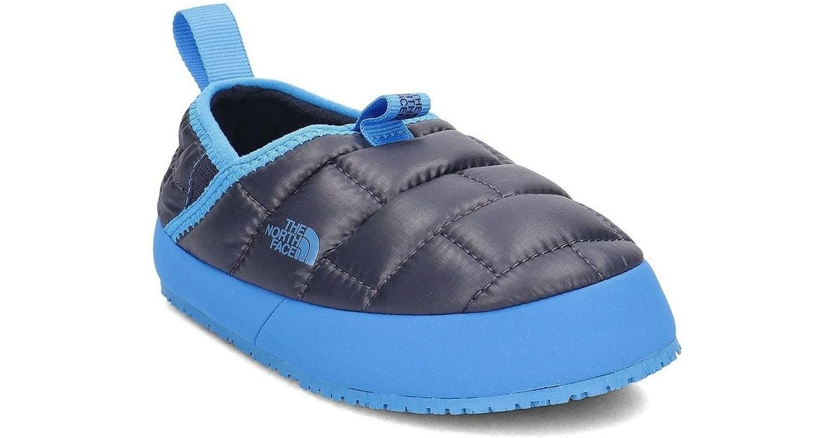 9514bb08b The North Face Blue Thermal Tent Mule Ii Women's Slippers In Multicolour