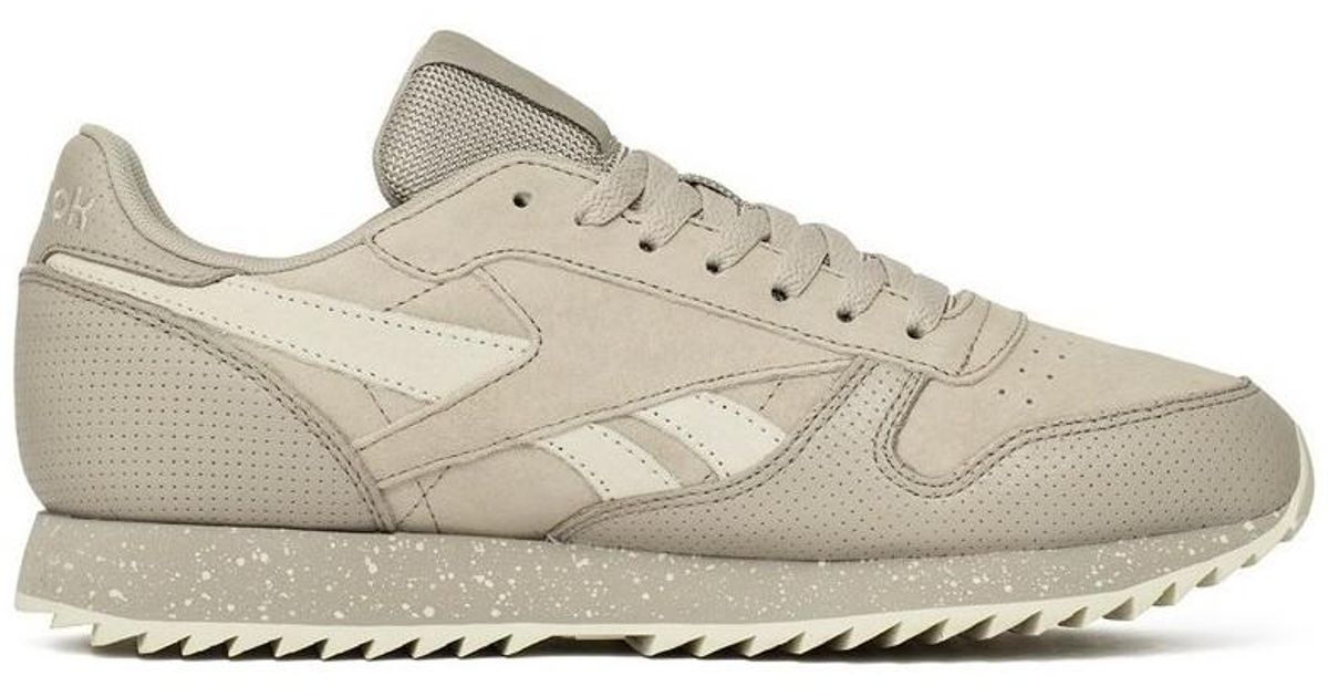 d07446d65f99b Reebok Classic Leather Ripple Sm Men s Shoes (trainers) In Multicolour in  White for Men - Lyst