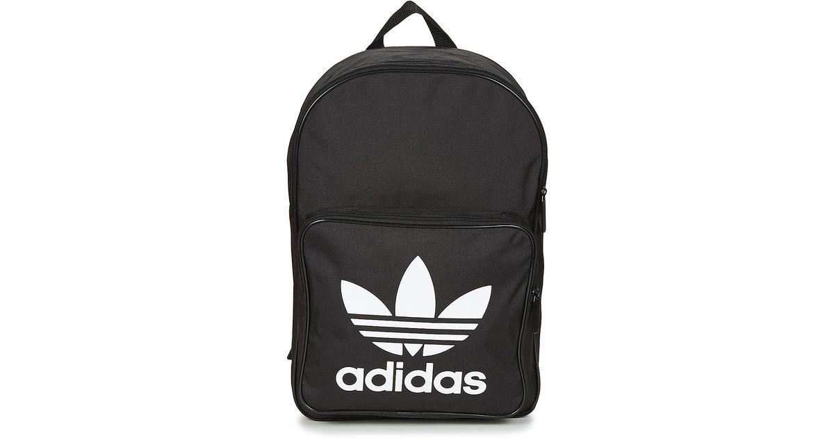 Adidas Bp Clas Trefoil Men s Backpack In Black in Black for Men - Lyst d8d19ed7f884d