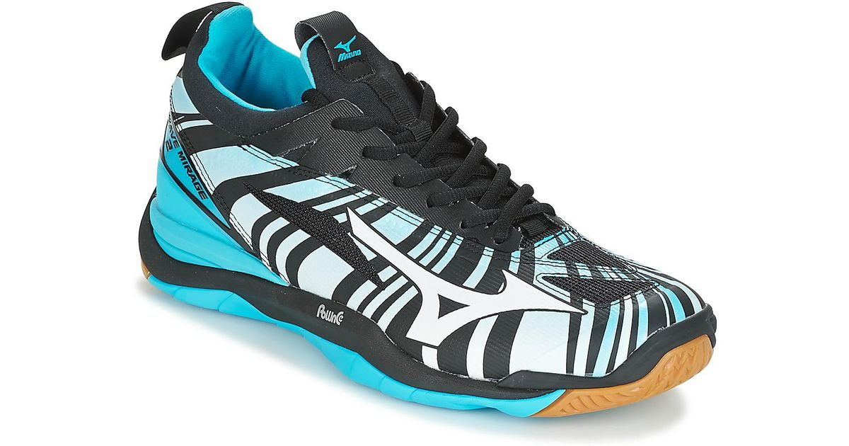meet 71299 0f34a Mizuno Wave Mirage 2 F4 Special Men's Indoor Sports Trainers (shoes) In  Blue for men