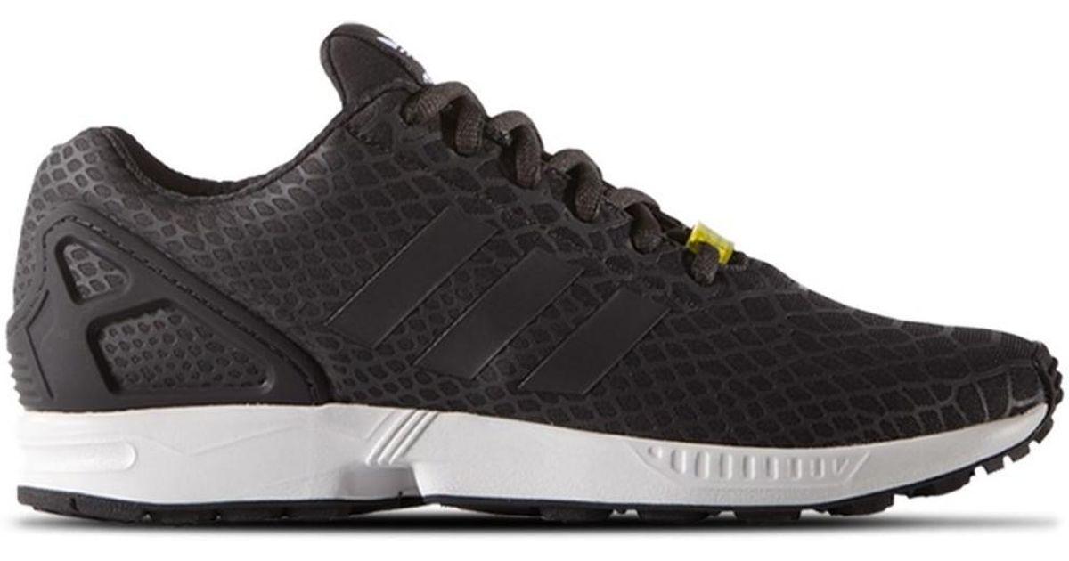 Adidas Zx Flux Techfit Men's Shoes (trainers) In Black for men