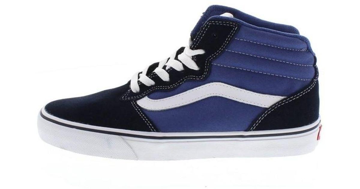 12d4c191ad2930 Vans 187 A Milton High Men s Shoes (trainers) In Multicolour in Blue for Men  - Lyst