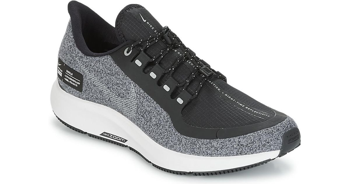 Nike Air Zoom Pegasus 35 Shield Running Sneakers From Finish Line in Black  - Lyst 5ca7ba3d29