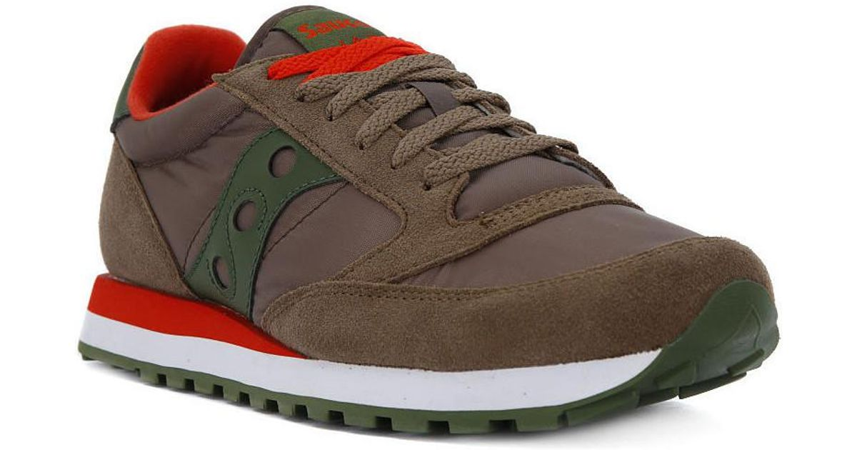 detailed look 92c78 a4795 Saucony - Jazz Light Brown Men's Shoes (trainers) In Brown for Men - Lyst