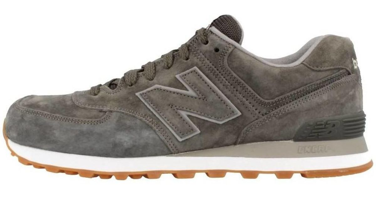 pretty nice 84c8e 64644 New Balance Gray Ml574 Fsc Men's Shoes (trainers) In Grey for men