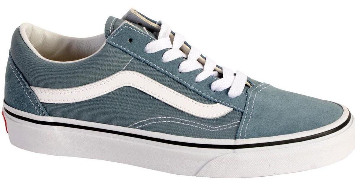19cd7bd839bf Vans Sneakersball Old Skool Goblin Blue True White Women s Shoes (trainers)  In Blue in Blue - Lyst
