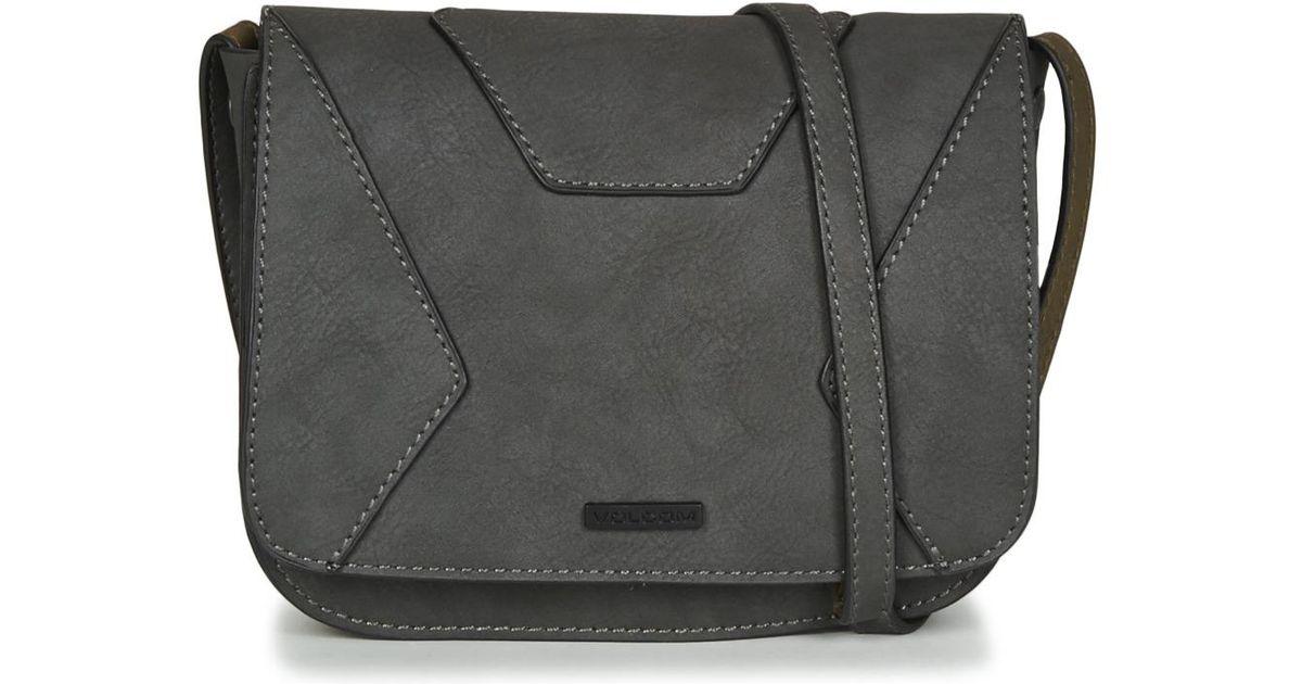 Volcom Volni Cross Body Bag Women s Shoulder Bag In Grey in Gray for Men -  Lyst c6115614d2200