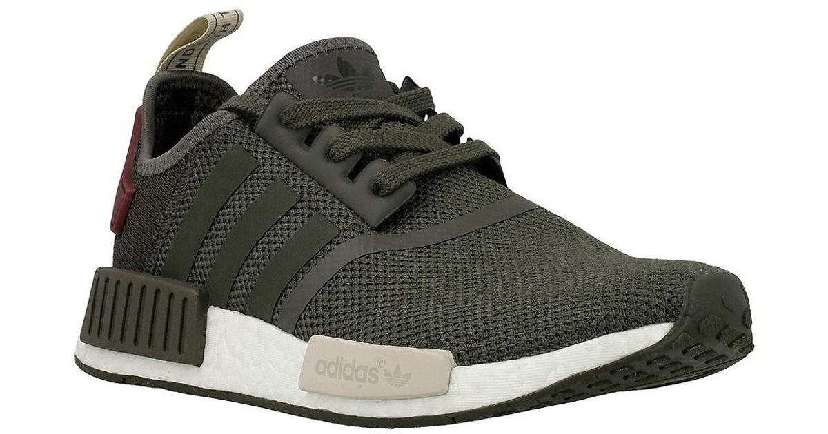 Adidas Originals Nmdr1 W Women's Shoes (trainers) In Green
