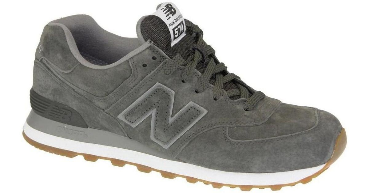 the best attitude d7b57 439e5 New Balance Gray Ml574fsc Men's Shoes (trainers) In Grey for men