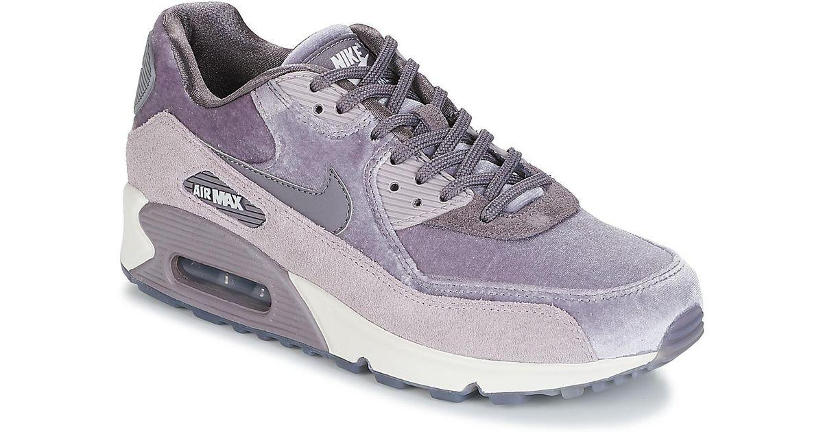 best service 18b0f f2300 Nike Air Max 90 Lx W in Purple - Lyst