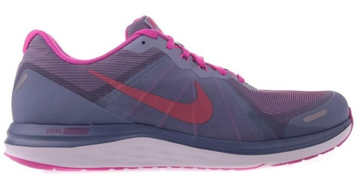 Nike Dual Fusion X 2 Women s Shoes (trainers) In Grey in Gray - Lyst 4325ea6e1f