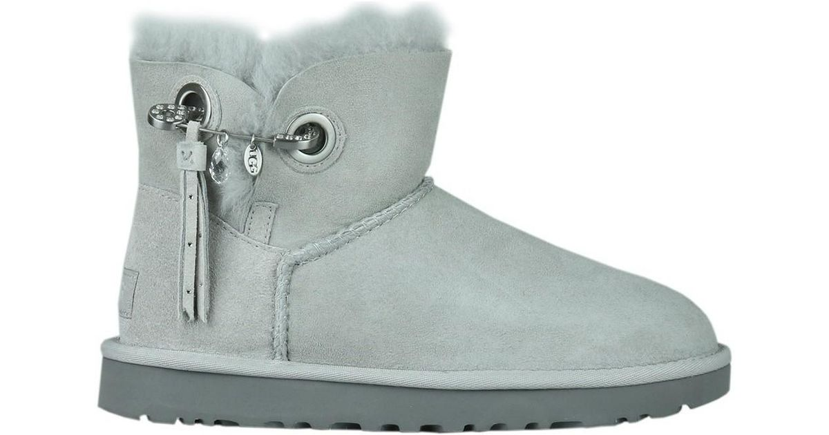 1c6c6f0e19b Ugg Gray Josey Grey Violet Women's Snow Boots In Grey