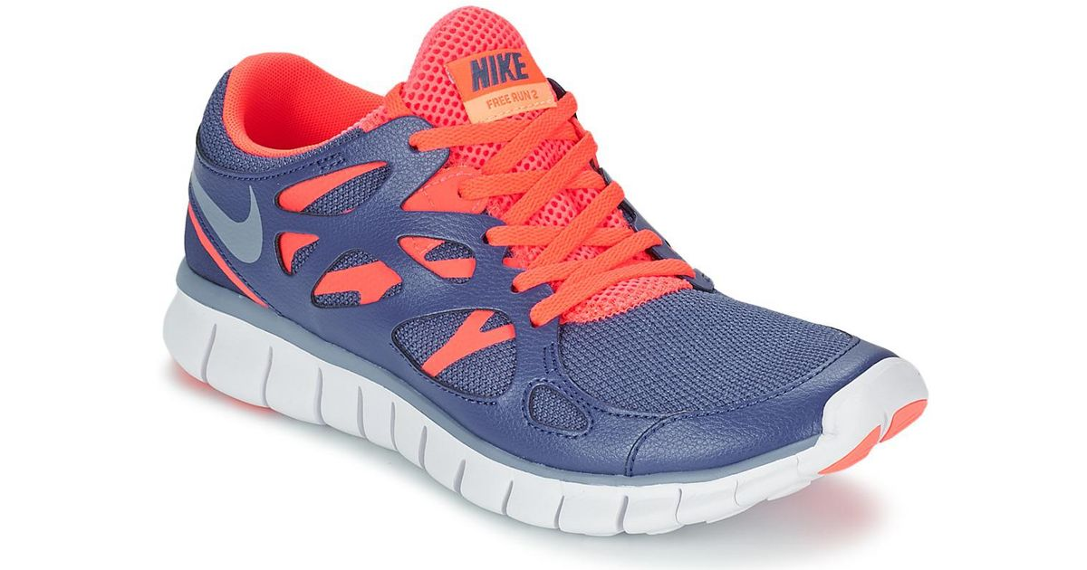 Nike Free Run 2 Women's Shoes (trainers) In Blue