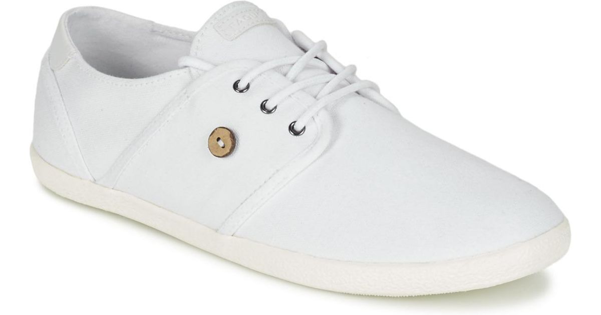 Faguo Cypress Men's Schuhes (trainers) In Weiß in Weiß for for Weiß Men Lyst 9621b2