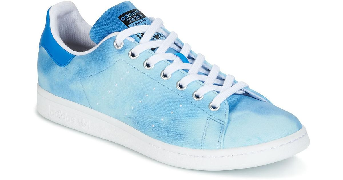 low priced d5c00 cfd08 Adidas Stan Smith Pharrell Williams Men's Shoes (trainers) In Blue for men