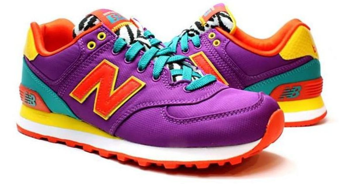 New Balance Wl574py Women's Shoes (trainers) In Red