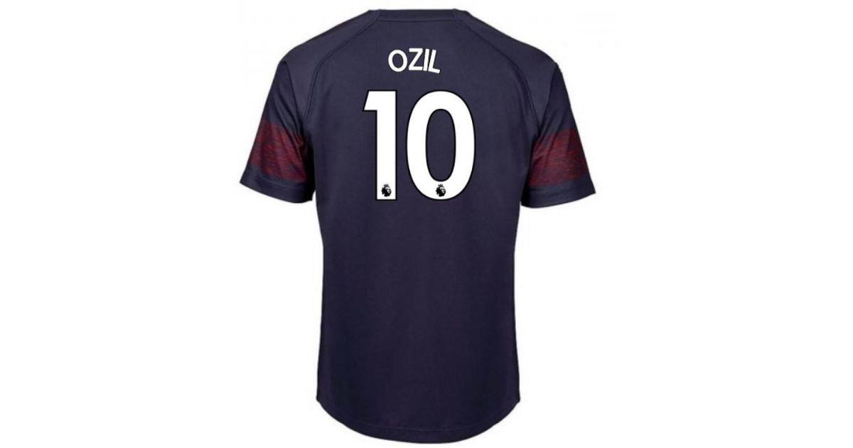 premium selection 9f52c f1fe4 PUMA 2018-2019 Arsenal Away Football Shirt (ozil 10) Men's T Shirt In Blue  for men