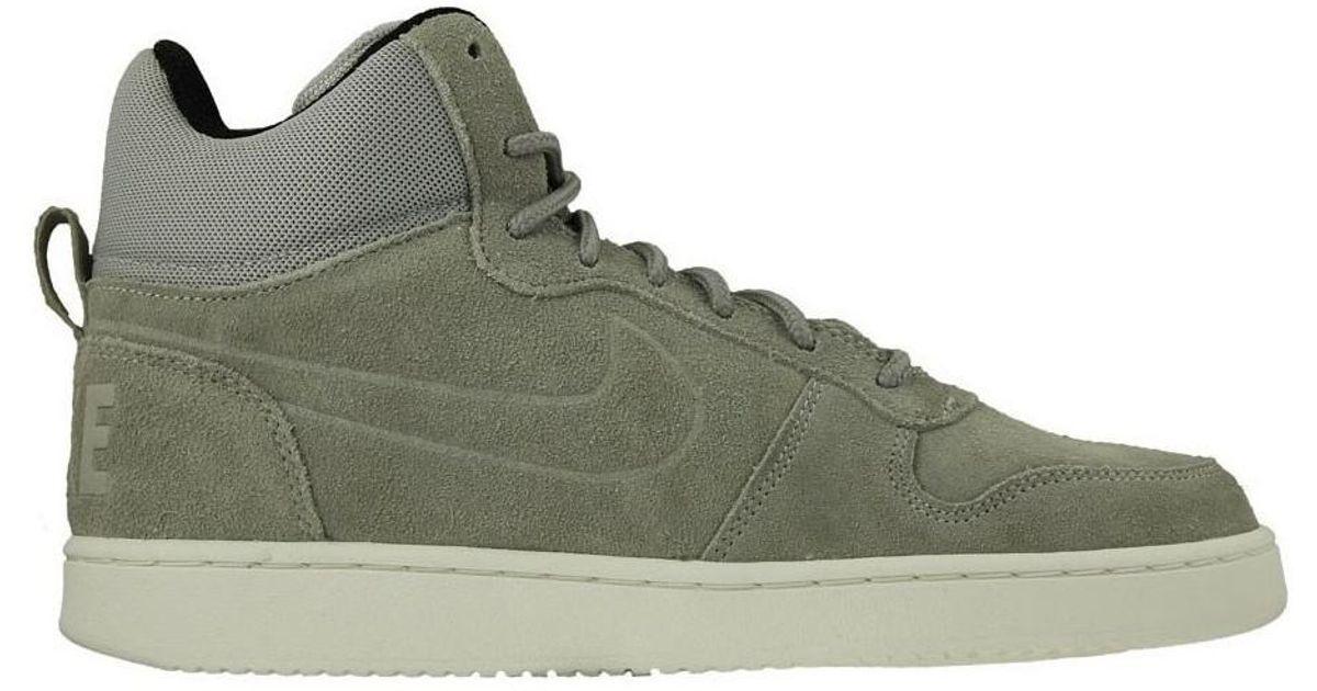 Nike Court Borough Mid Prem Men S Shoes High Top Trainers