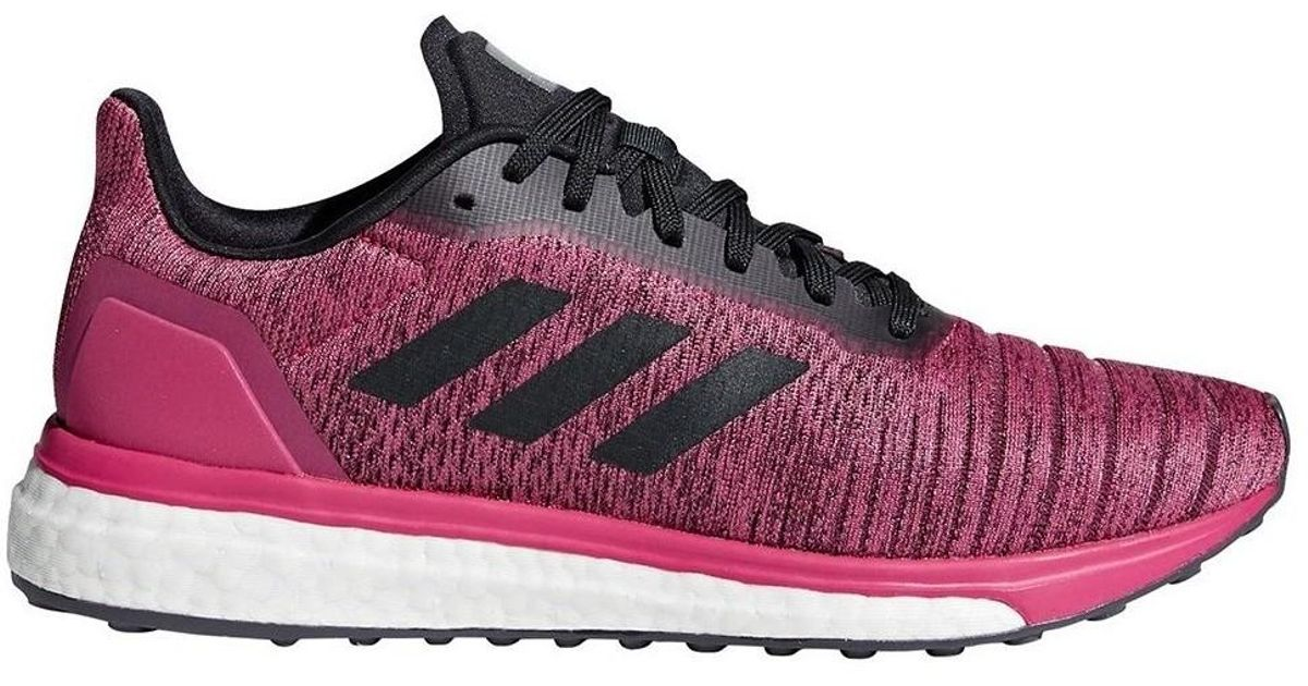 Womens Solar Drive Trainers Pink