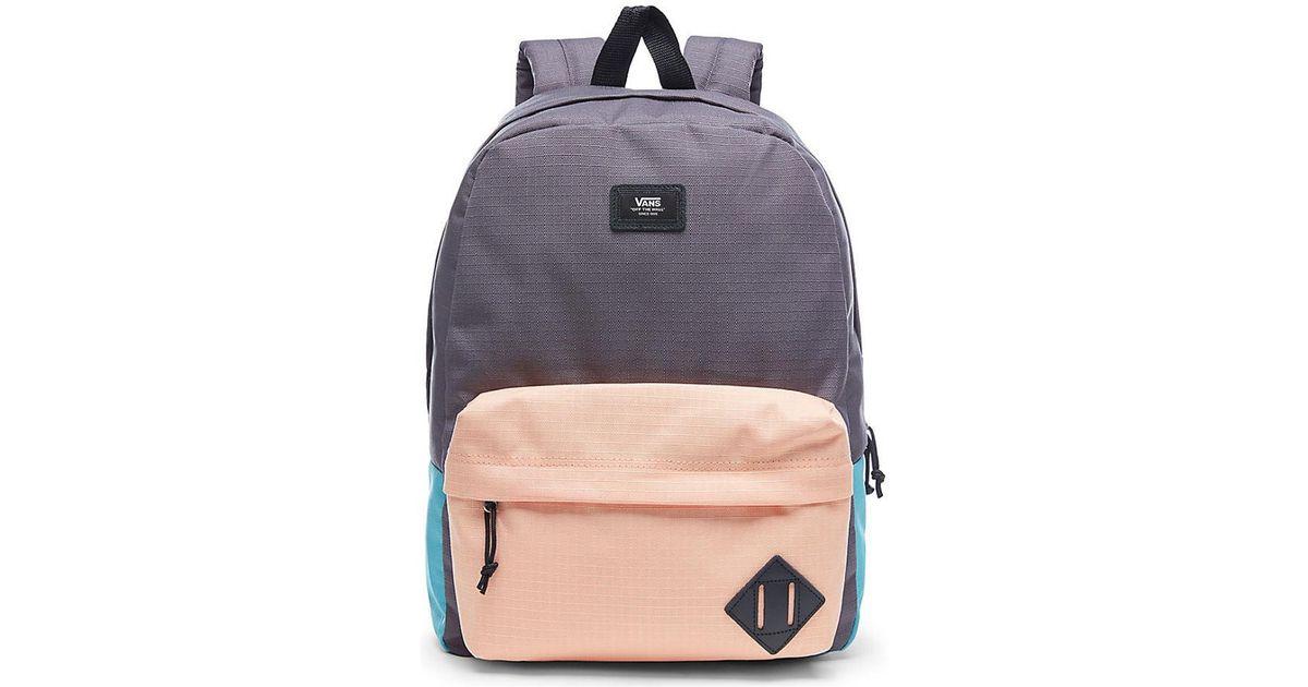 e2bc59945474d4 Vans Old Skool Ii Backpack - Asphalt Colorblock Men s Backpack In Grey in  Gray for Men - Lyst