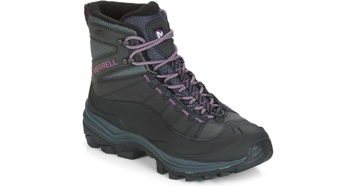 93b973cd64d Merrell Black Thermo Chill Mid Shell Waterproof