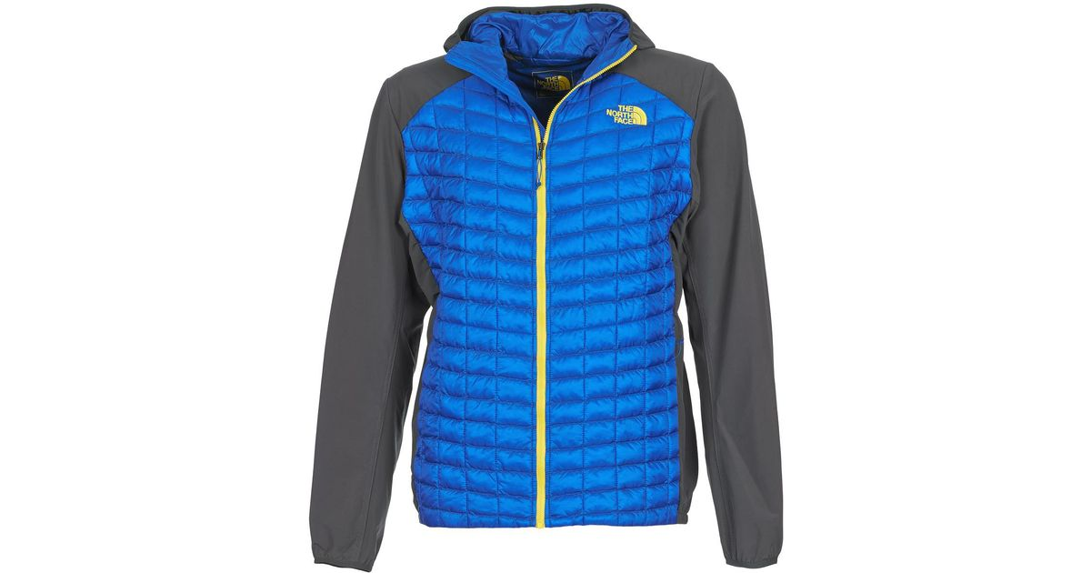 ab1bdeac45ce The North Face Thermoball Hybrid Hoodie - Eu Men's Jacket In Blue in Blue  for Men - Lyst