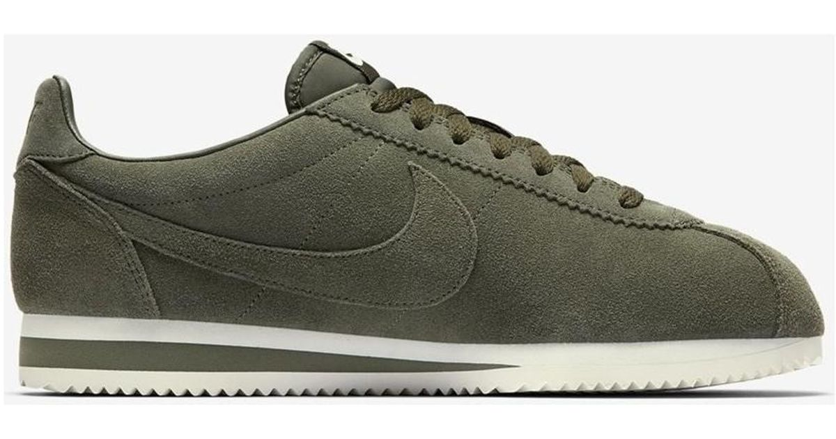 finest selection 86eed 2bfc4 ... discount code for nike classic cortez se cargo khaki 902801 300 mens  shoes trainers in multicolour