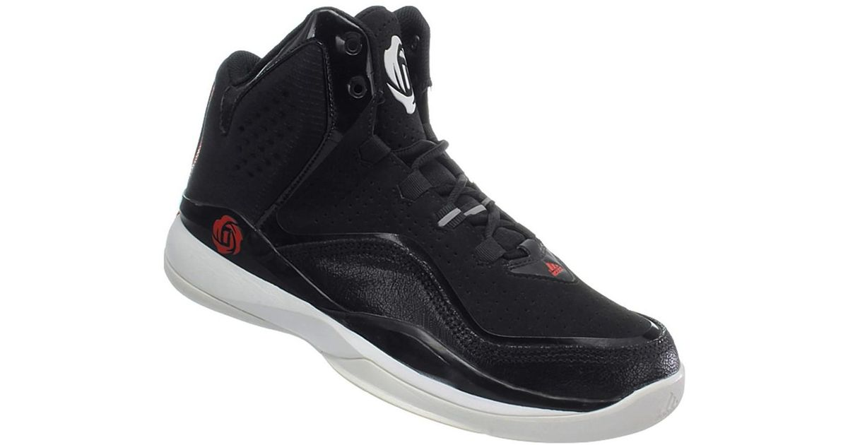 buy popular d9c14 1ff0a adidas D Rose Dominate Ii Mens Basketball Trainers (shoes) In Black in  Black for Men - Lyst