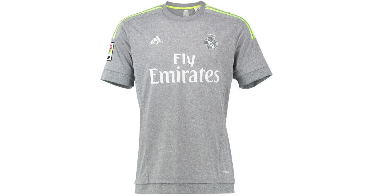 7d95efb7753 adidas 2015-16 Real Madrid Away Shirt (isco 22) - Kids Men s T Shirt In  Grey in Gray for Men - Lyst
