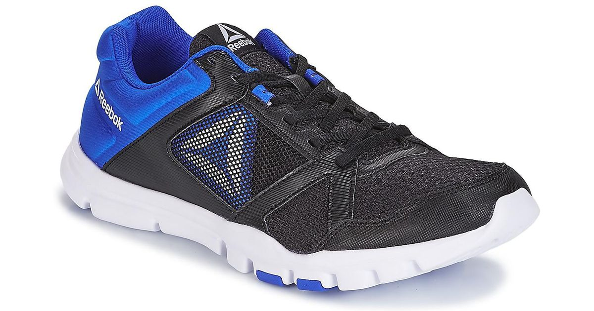 48fd5bce49a2 Reebok Yourflex Train 10 Mt Sports Trainers (shoes) in Black for Men - Save  20.370370370370367% - Lyst