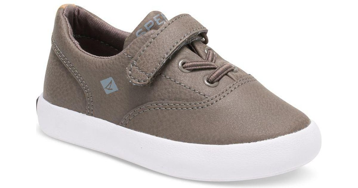 ce4d5a1cb544 Lyst - Sperry Top-Sider Women s Angelfish Boat Shoe in Gray