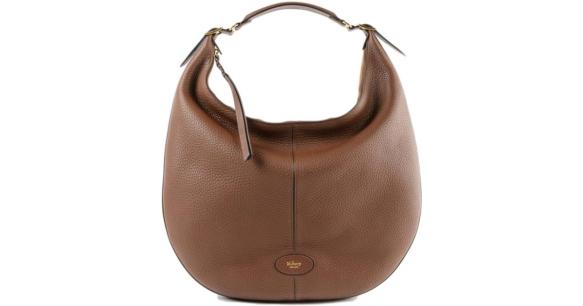 Mulberry L Selby Bag in Brown - Lyst 30fe15cc7c5b3