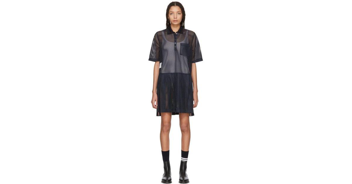 Cotton polo dress Thom Browne Ad3Nq