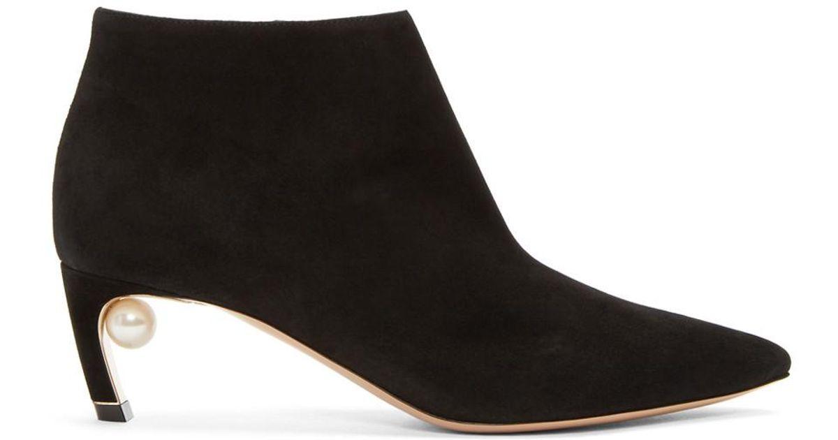 Mira Pearl ankle boots - Black Nicholas Kirkwood 5uUMcH9y