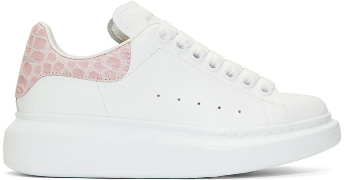 pink alexander mcqueen sneakers