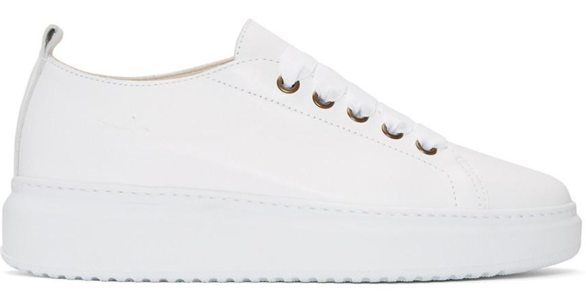 Manebí White Bold Sneakers 6UdHyiXyrH