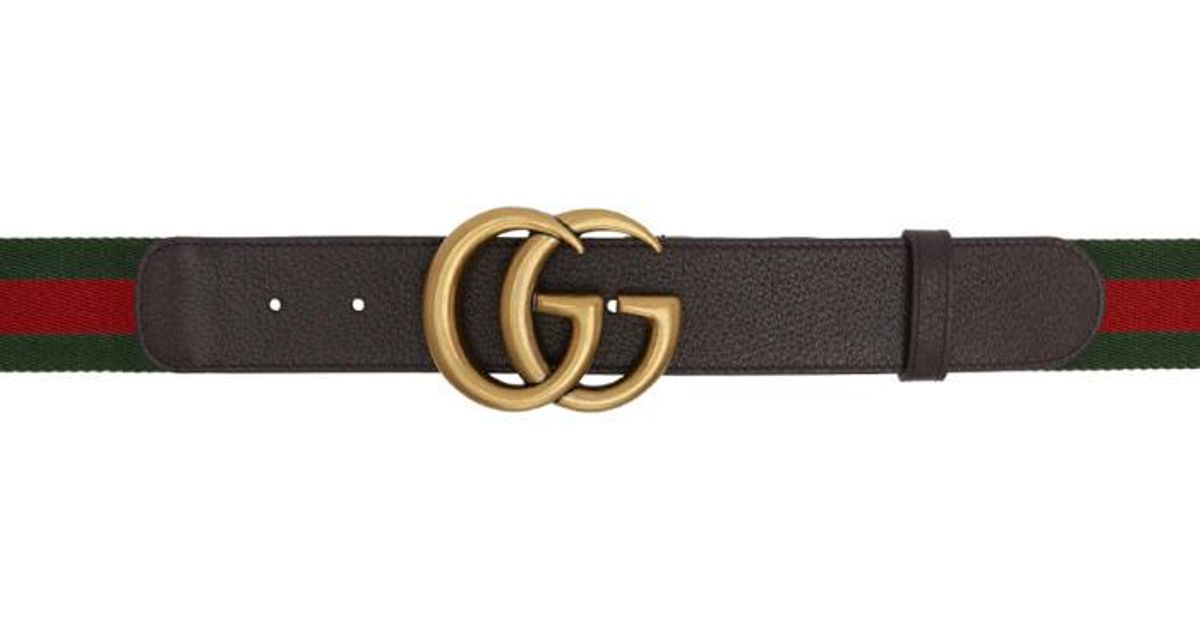 526a41723 Gucci Gucci Belt With Black Red & Green Sign | Mount Mercy University