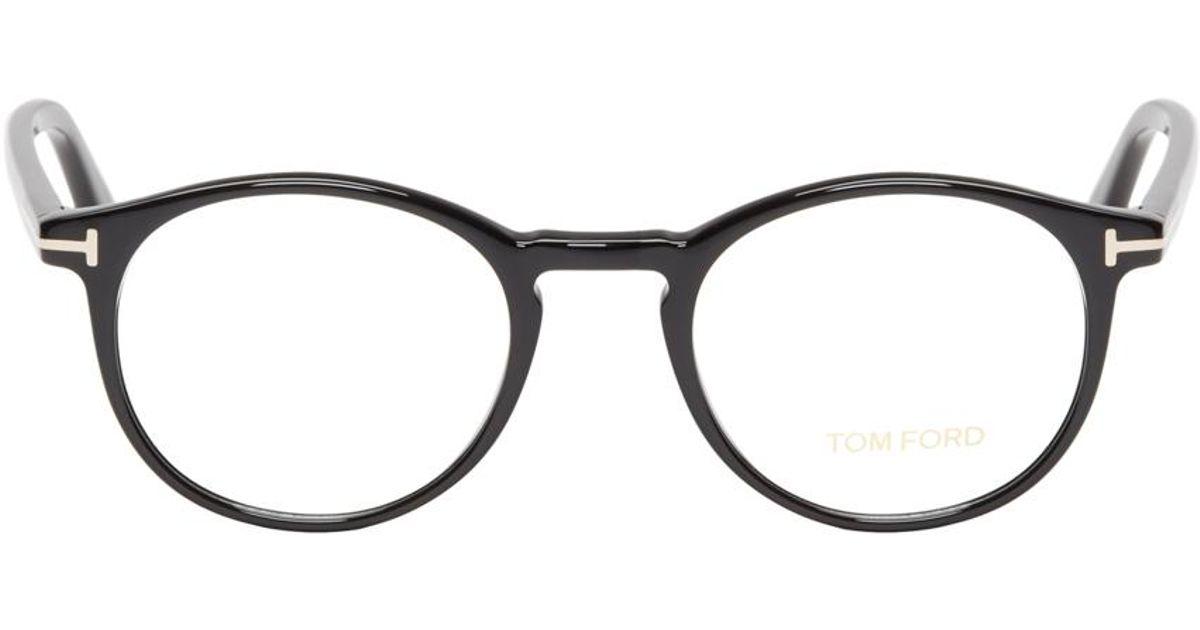 0683dcfa28 Lyst - Tom Ford Black Acetate Tf5294 Optical Glasses in Black for Men