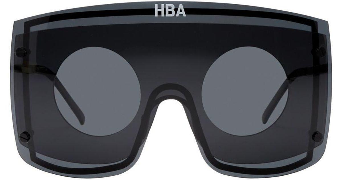 8650b2088adf Hood By Air Black Gentle Monster Edition Marz Sunglasses in Black for Men -  Lyst